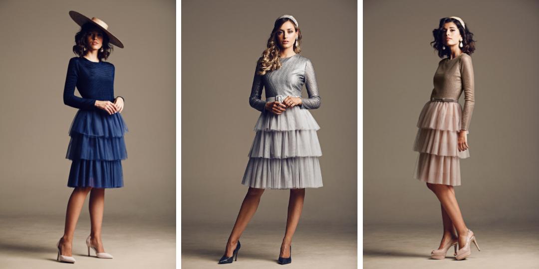 faldas de tul, vestidos de tul, vestidos de invitada, vestidos para bodas