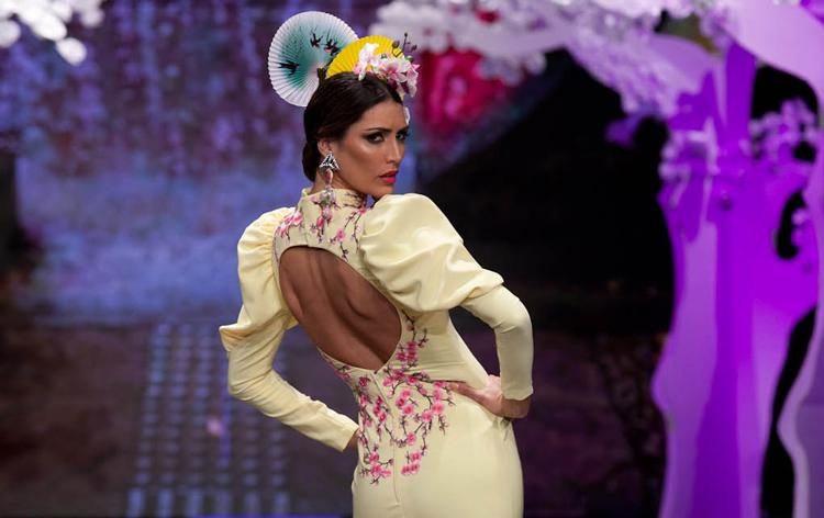 """Así es """"Sakura"""", la colección flamenca de Patricia Bazarot presentada en SIMOF 2018"""