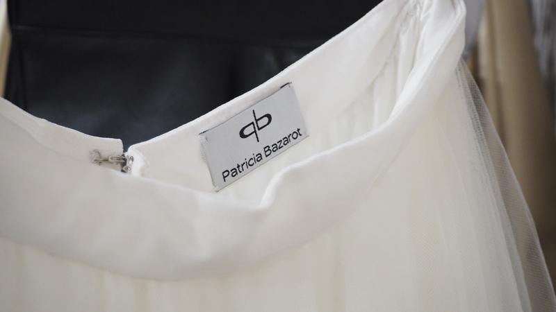 Vestidos de novia Patricia Bazarot: el proceso de creación