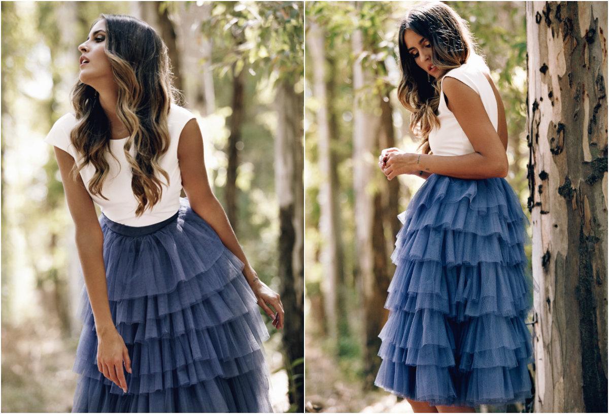 Falda de tul Donna de Patricia Bazarot
