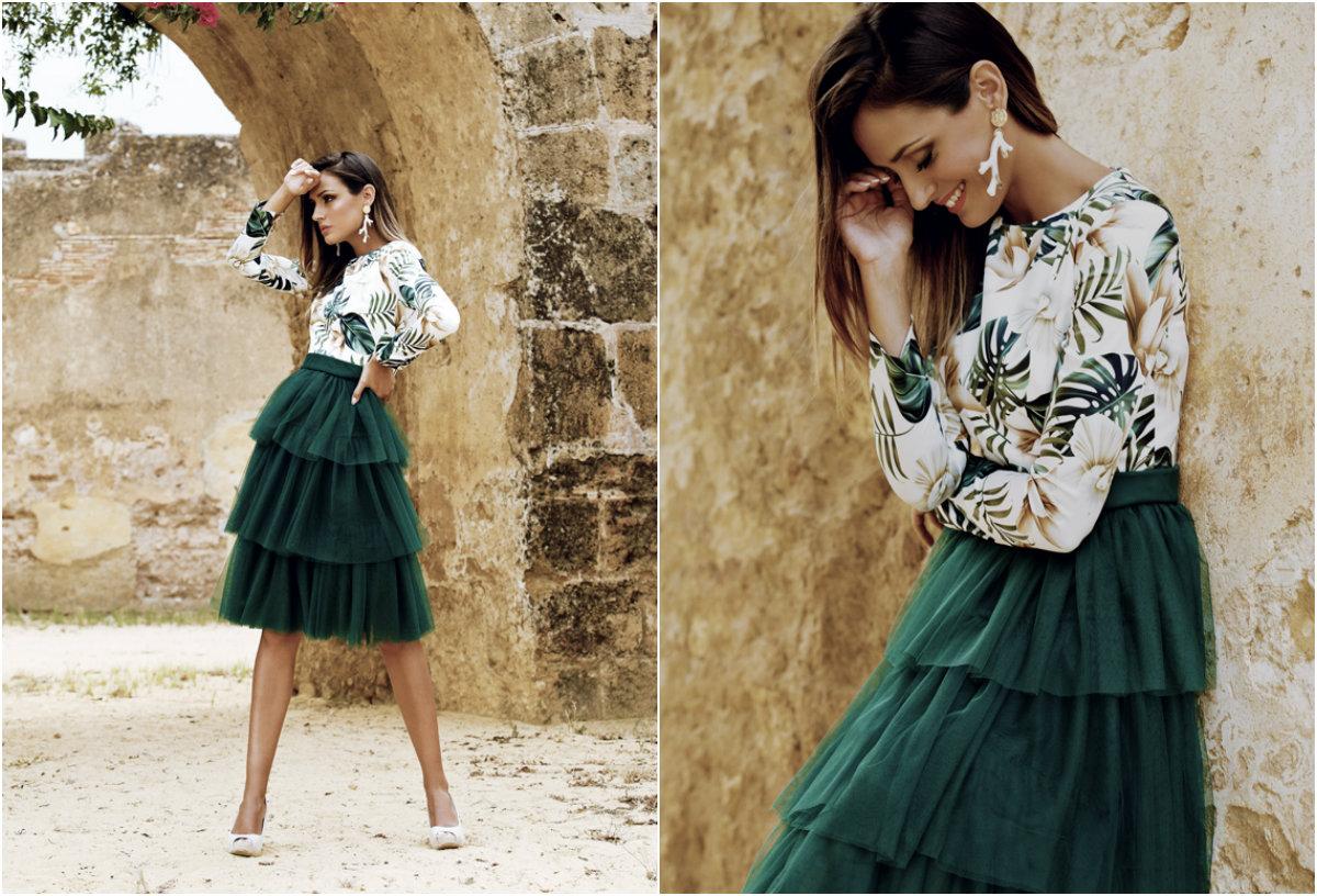 Falda de tul Gia de Patricia Bazarot
