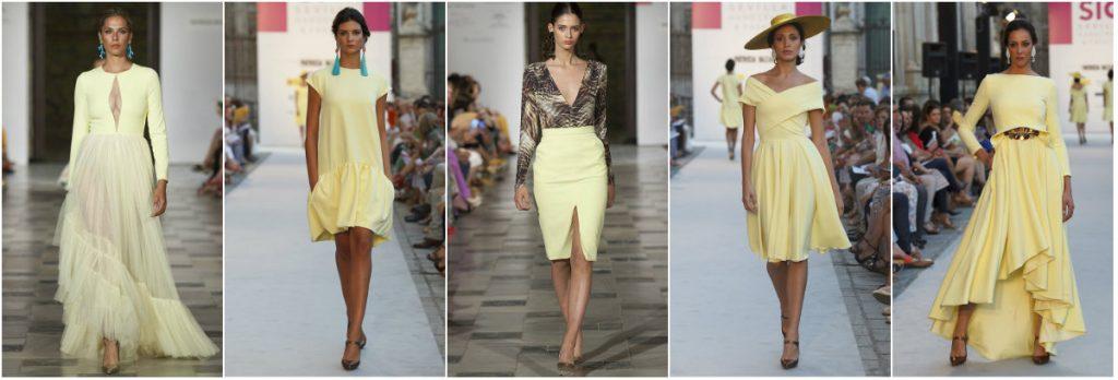 Looks amarillos de Patricia Bazarot