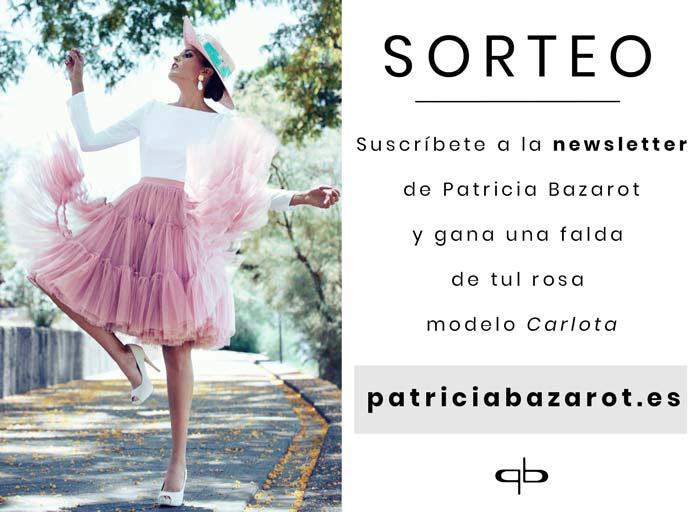 Sorteo: gana una falda de tul de Patricia Bazarot