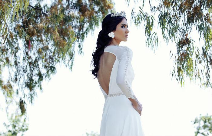 Vestido de novia de Patricia Bazarot