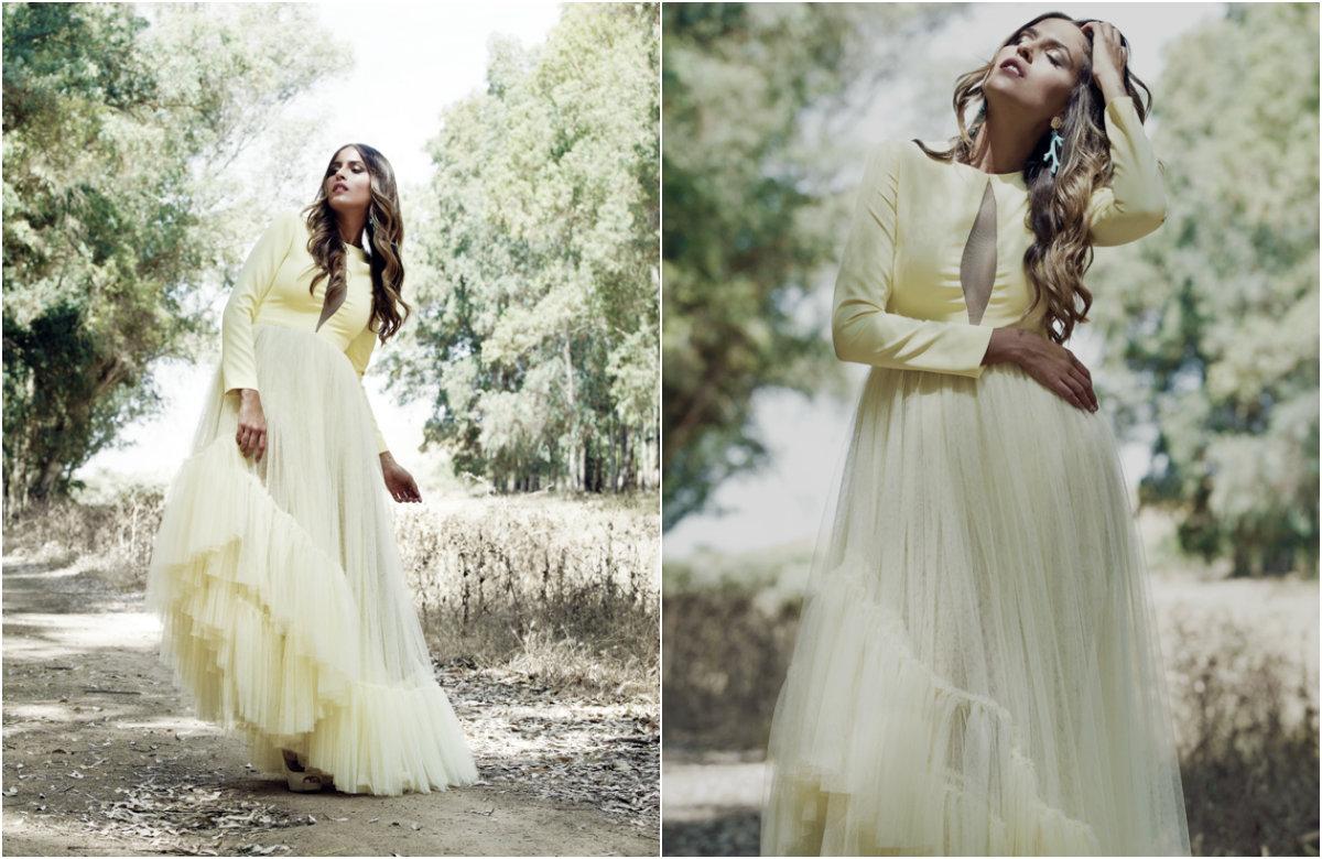 Vestido de tul Allegra de Patricia Bazarot
